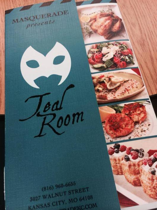 The Masquerade Event hall Presents : The Teal Room